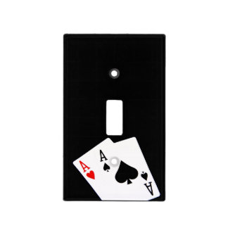Poker Light Switch Cover