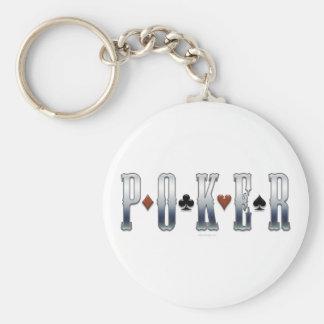 Póker Llavero Redondo Tipo Pin