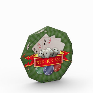 Poker Mania - Cards, Dices, Chips Acrylic Award