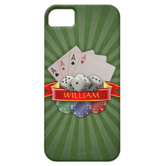 Poker Mania - Cards, Dices, Chips iPhone SE/5/5s Case