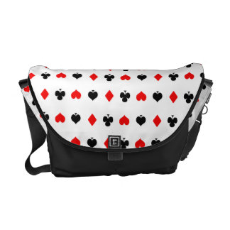 Poker messenger bag