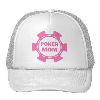 POKER MOM POKER CHIP TRUCKER HATS