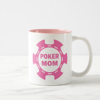 POKER MOM POKER CHIP Two-Tone COFFEE MUG