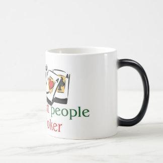 Poker morphing mug