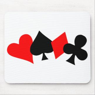Poker Mousepad Mouse Pad