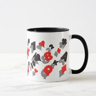 poker mug or stein
