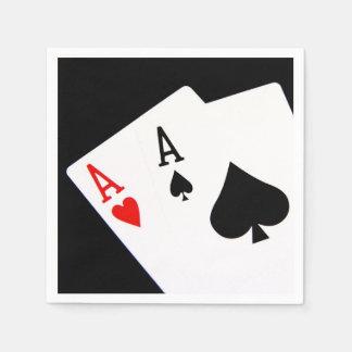 Poker Napkins