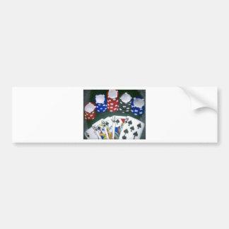 Poker Night Bumper Sticker