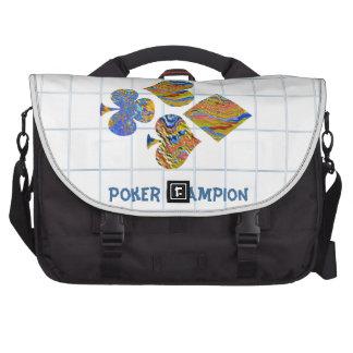 POKER Night Championship Laptop Commuter Bag
