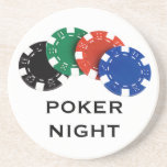 Poker Night coasters