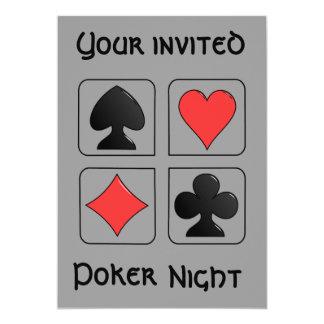 Poker Night Invitation