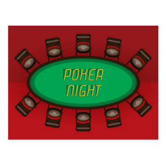 Poker Night - Postcards