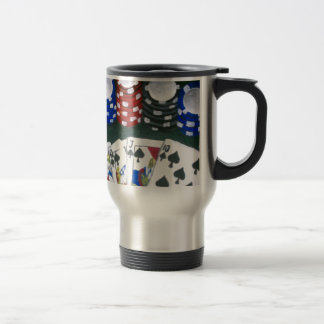 Poker Night Travel Mug