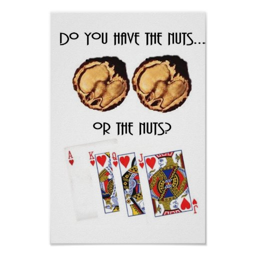Poker Nuts Poster