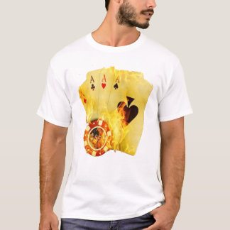 Poker On Fire T-Shirt