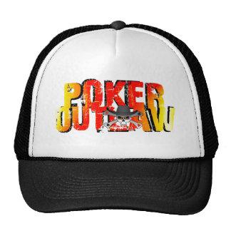 Poker Outlaw Trucker Hat
