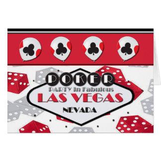 POKER PARTY In Fabulous Las Vegas Card Cards