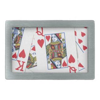 Poker Patterns Rectangular Belt Buckle