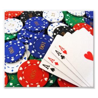 Poker Photo Print