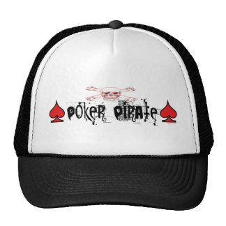 Poker Pirate Hat