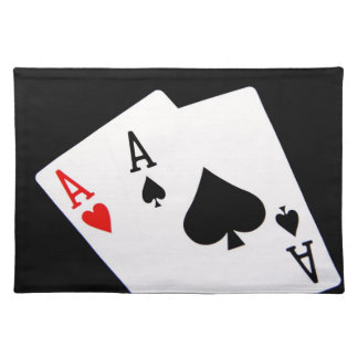 Poker Placemat Cloth Placemat