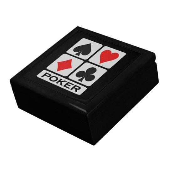 Poker Player gift box