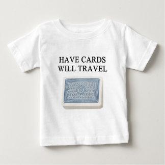 poker player lucky design tee shirt