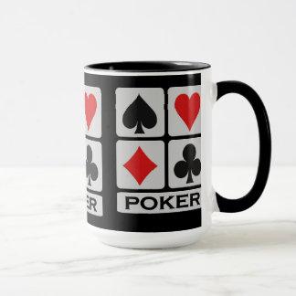 Poker Player mug - choose style & color