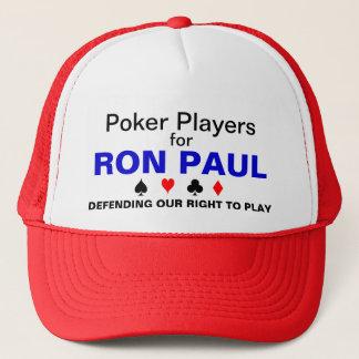 Poker Players for Ron Paul Trucker Hat
