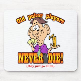 Poker Players Mouse Pad