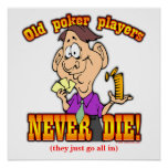 Poker Players Posters
