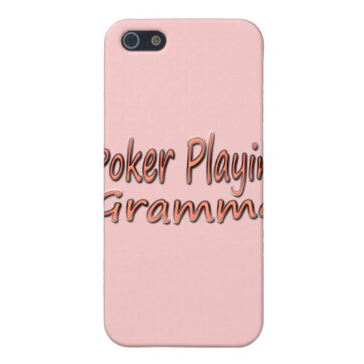 Póker Playin Gramma 2 iPhone 5 Coberturas