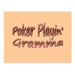 Póker Playin Gramma 2 Postal
