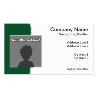 Poker Playing Animals Business Card Template