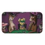 Poker Playing Animals Cover For iPhone 4