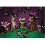 Poker Playing Animals Photo Cut Outs