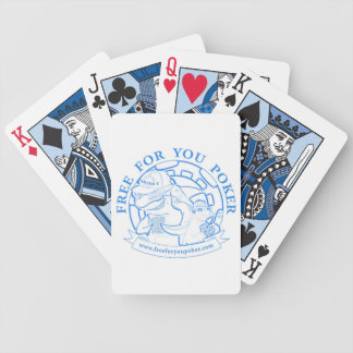 Poker Playing Cards - Blue
