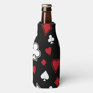Poker Playing Cards Bottle Cooler
