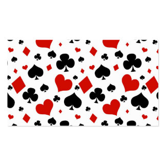 Poker Playing Cards Double-Sided Standard Business Cards (Pack Of 100)