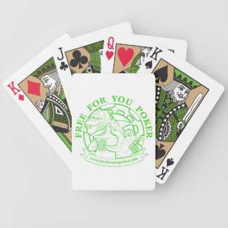 Poker Playing Cards - Green