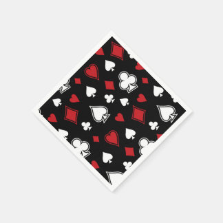 Poker Playing Cards Napkin