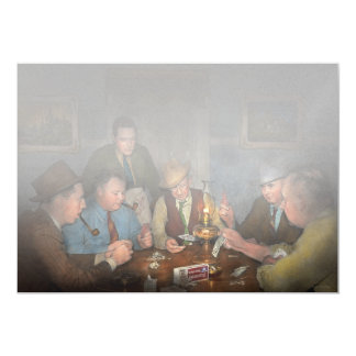 Poker - Poker face 1939 Card