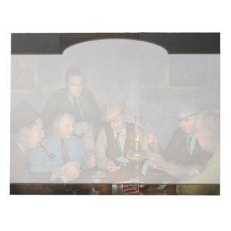 Poker - Poker face 1939 Notepad