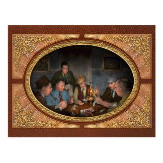 Poker - Poker face 1939 Postcard