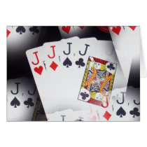 Poker, Quad Jacks Pattern,