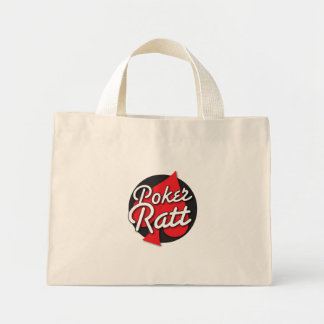 Poker Ratt rockabilly card design Mini Tote Bag