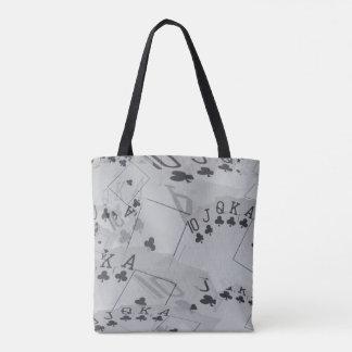 Poker,_Royal_Club_Flush,_Full_Print_Tote_Bag Tote Bag
