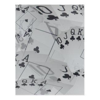 Poker,_Royal_Club_Flush,_ Postcard