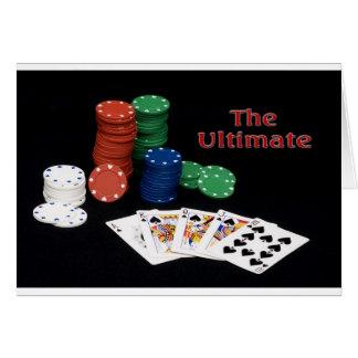 Poker Royal Flush Card