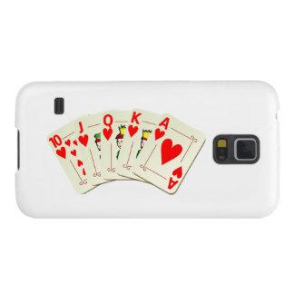 Poker Royal Flush Galaxy S5 Cover